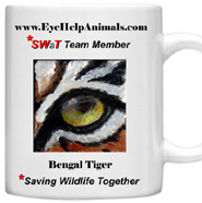 Eye Help Animals SWaT Team Mug