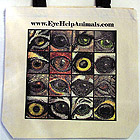 Eye Help Animals Canvas Tote Bag - First Edition