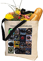 Eye Help Animals Canvas Tote Bag - Second Edition