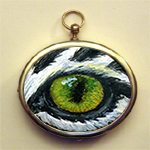 Eye Help Animals Wildlife Eye Pendant