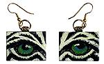 Eye Help Animals Wildlife Eye Earrings