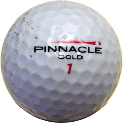 Jim Fontaine's hole-in-one golf ball!