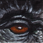 Mountain Gorilla Wildlife Collectible Eye